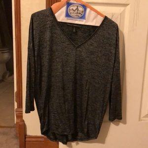 WHBM long sleeve blouse.